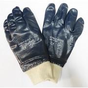 Guante nitrilo textil resistente