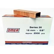 Caja grapas 35/15 Omer