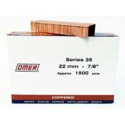 Caja grapas 35/22 Omer