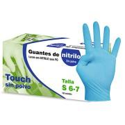 guantes nitrilo sin polvo