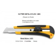 Cutter 18mm profesional con rueda