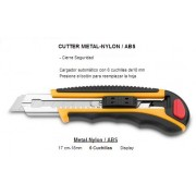 Cutter 18mm profesional con autolock