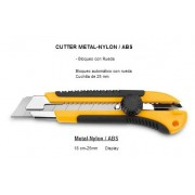 Cutter 25mm profesional con rueda