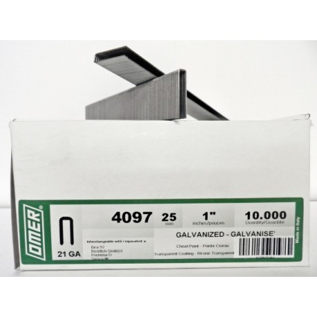 Caja grapas 97/25 Omer