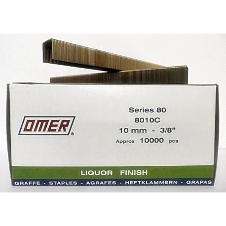 Caja grapas 80/10 Omer