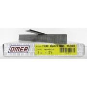 Caja brads 12/13 negro Omer