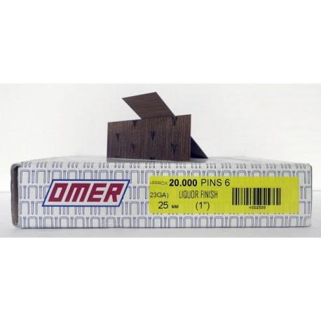 Caja pins 6/25 Omer