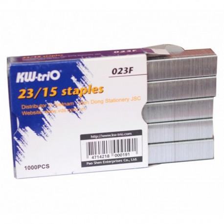 Caja grapas 23/15 kw-trio 1000 uds