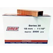 Caja grapas 35/18 Omer