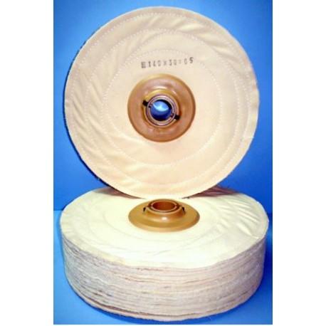 Cepillo 120 discos de tela cosidos