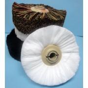 Cepillo lana blanca nº7