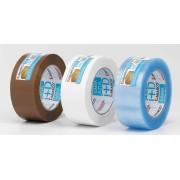 Precinto transparente 48mm solución azul